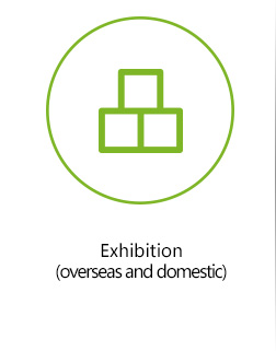 Exhibition (overseas and domestic)